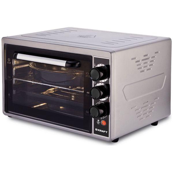 Купить Мини-печь Kraft KF-MO3803K Grey в каталоге интернет магазина М.Видео по выгодной цене с доставкой, отзывы, фотографии - Красноярск
