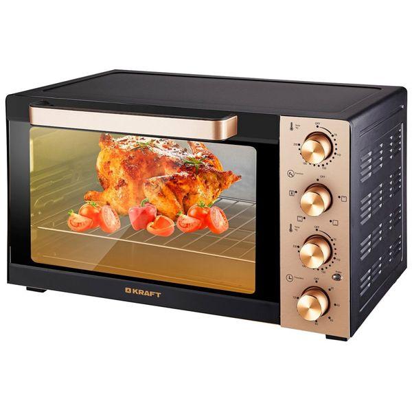 Купить Мини-печь Kraft KF-MO3505K Gold в каталоге интернет магазина М.Видео по выгодной цене с доставкой, отзывы, фотографии - Санкт-Петербург