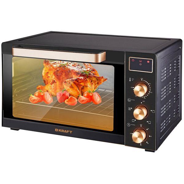 Мини-печь Kraft KF-MO3506K Gold/Black