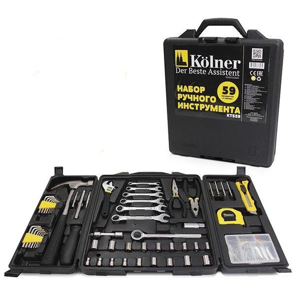 Набор ручного инструмента Kolner KTS 59