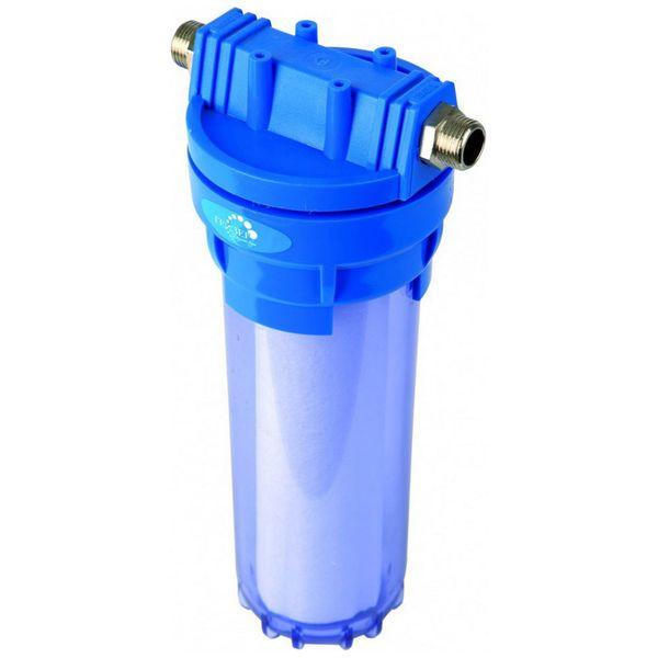 Фильтр для очистки воды Гейзер 1П 1/2-3/4\'\' прозрачный (32008)