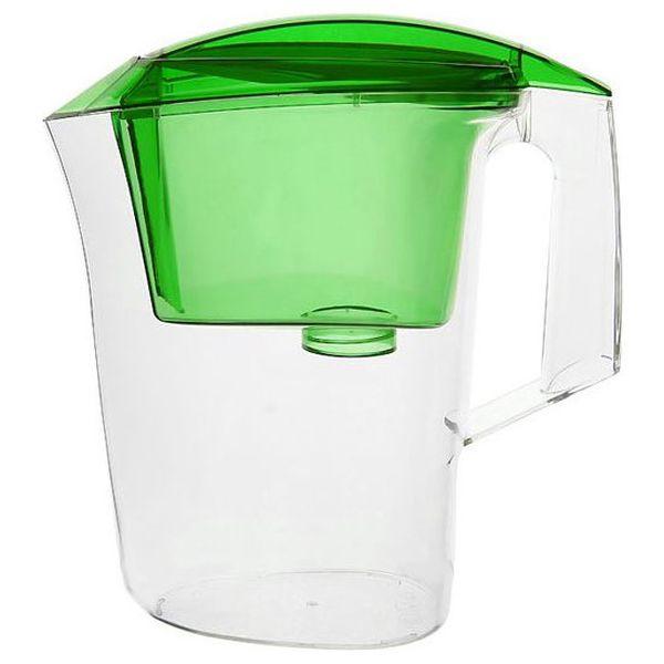 Фильтр-кувшин Гейзер Дельфин 3л зеленый (62035)