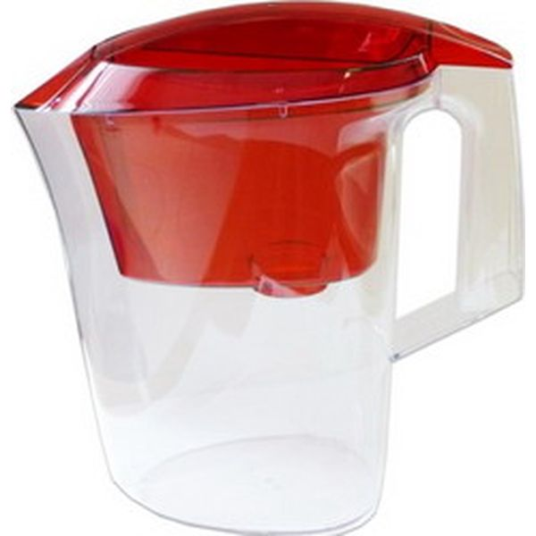 Фильтр-кувшин Гейзер Дельфин 3л красный (62035)