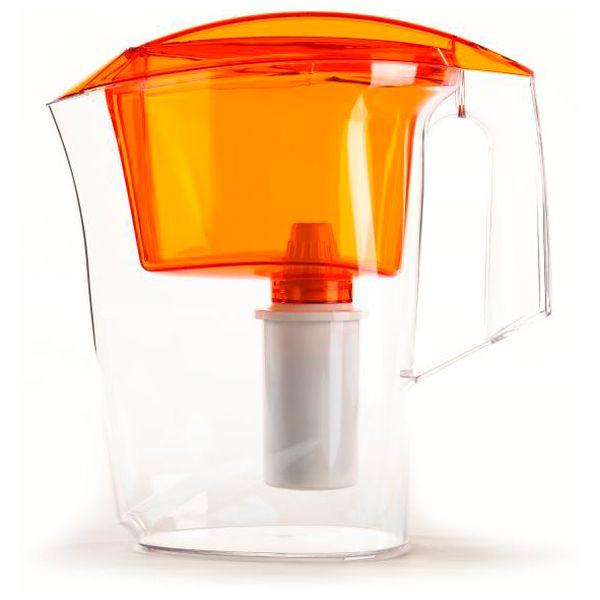Фильтр-кувшин Гейзер Дельфин 3л оранжевый (62035)