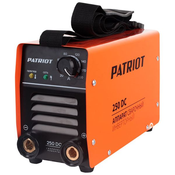Сварочный аппарат Patriot — 250DC MMA