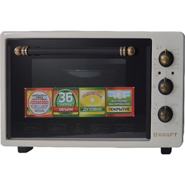 Мини-печь Kraft KF-MO 3601 BG Retro