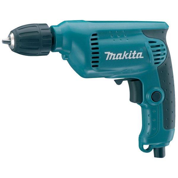Дрель электрическая Makita 6413 синего цвета