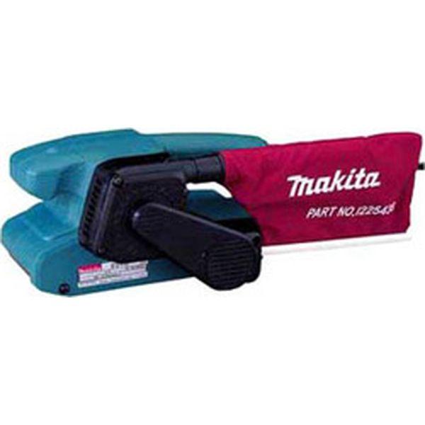 Ленточная шлифовальная машина Makita 9910 синего цвета