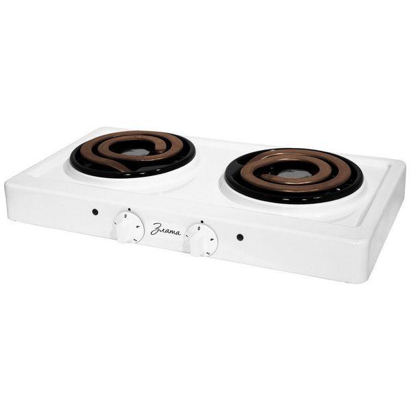 Настольная электрическая плита Злата — 214Т ЭПТ White