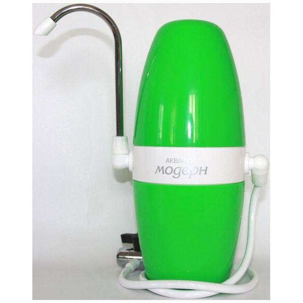 Фильтр для очистки воды Аквафор Модерн исп.1 зеленый