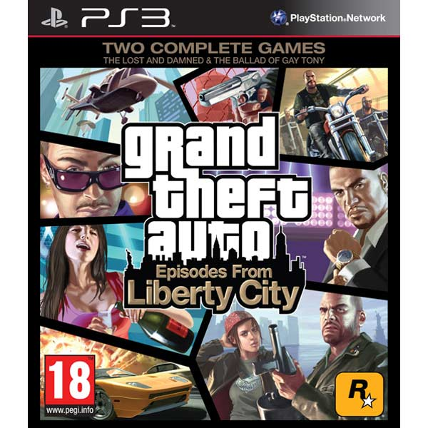 Игра для PS3 . Grand Theft Auto IV: Episodes From Liberty City saints row iv re elected игра для ps4
