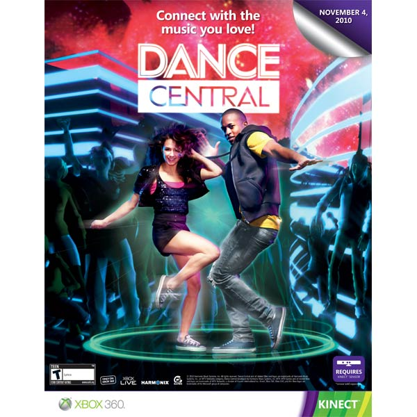 Microsoft, Игра для xbox, Dance Central.Kinect