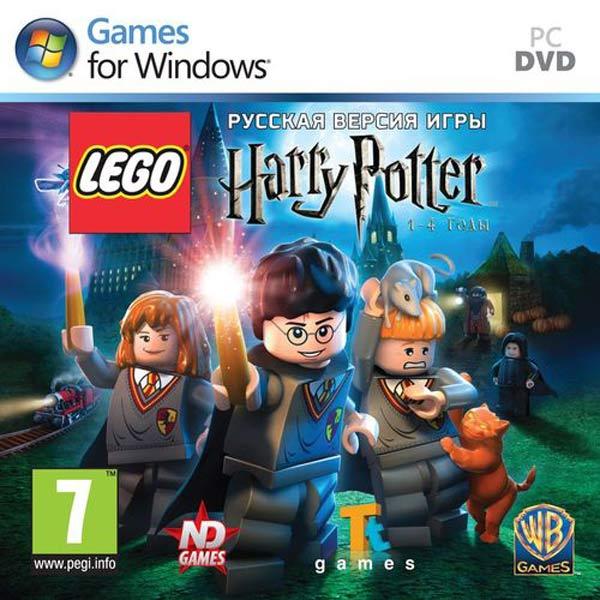 Видеоигра для PC Медиа LEGO Гарри Поттер: годы 1-4