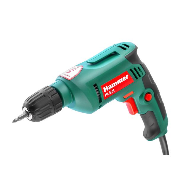 Дрель электрическая Hammer Flex DRL500С (109-013)