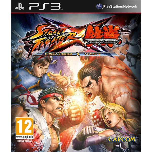 Игра для PS3 . Street Fighter X Tekken street fighter x tekken