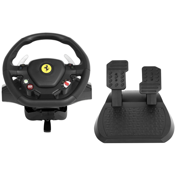 Thrustmaster, Игровой руль, Ferrari 458 Italia 2 in 1 PC/Xbox 360