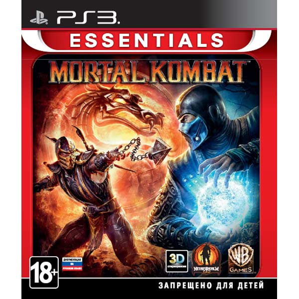 Игра для PS3 . Mortal Kombat Essentials майка print bar винсент и джулс