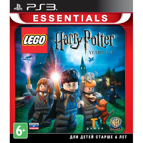 Игра для PS3 Медиа LEGO Harry Potter: Years 1-4 Essentials harry potter ollivanders dumbledore the elder wand in box prop replica