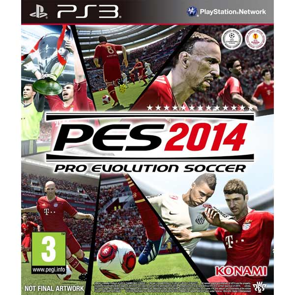Игра для PS3 . Pro Evolution Soccer 2014
