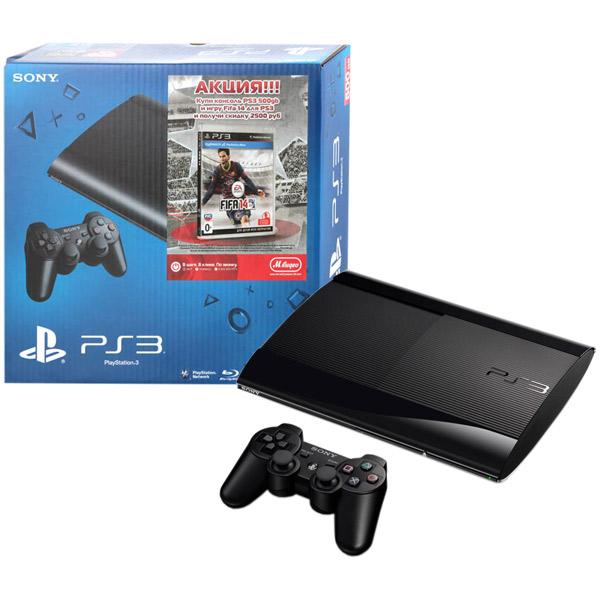 c065bd7fb6d0c Купить Игровая консоль PlayStation 3 Sony 500GB (CECH-4208C) в ...