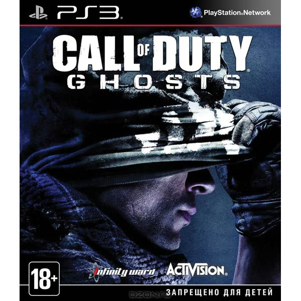 Игра для PS3 . Call Of Duty Ghosts call of duty modern warfare 3 content collection 2 цифровая версия