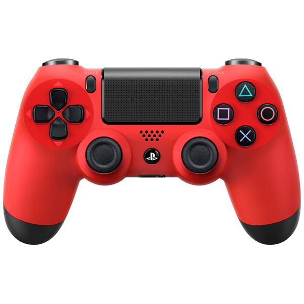 Аксессуар для игровой консоли PlayStation 4 Dualshock 4 красная лава (CUH-ZCT1E) аксессуар для игровой консоли playstation 4 зарядное устройство для dualshock 4 cuh zdc1 e