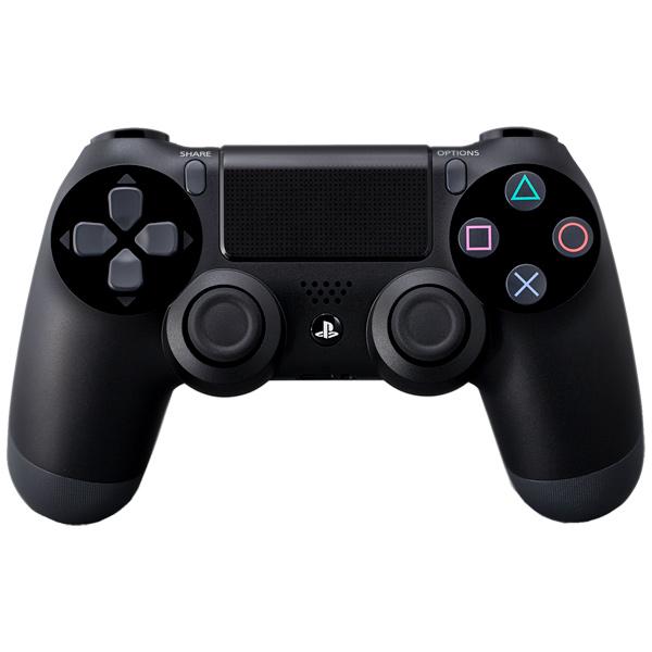 Аксессуар для игровой консоли PlayStation 4 Геймпад DualShock 4 Black (CUH-ZCT1E) аксессуар для игровой консоли playstation 4 наушники gold wireless jet black cechya 0083