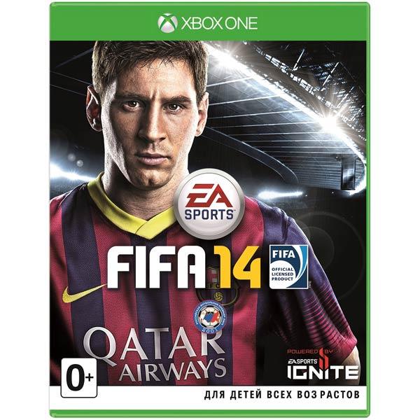 Видеоигра для Xbox One Медиа FIFA 14 цена и фото