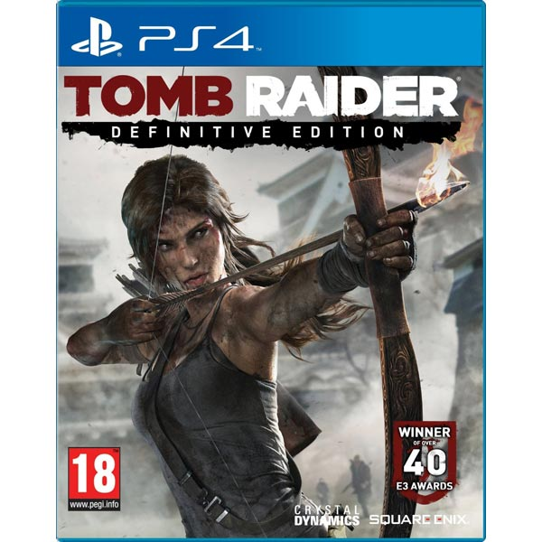Видеоигра для PS4 Медиа Tomb Raider: Definitive Edition