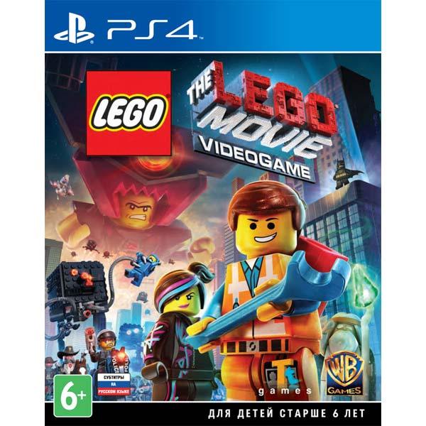 Видеоигра для PS4 . LEGO Movie Videogame