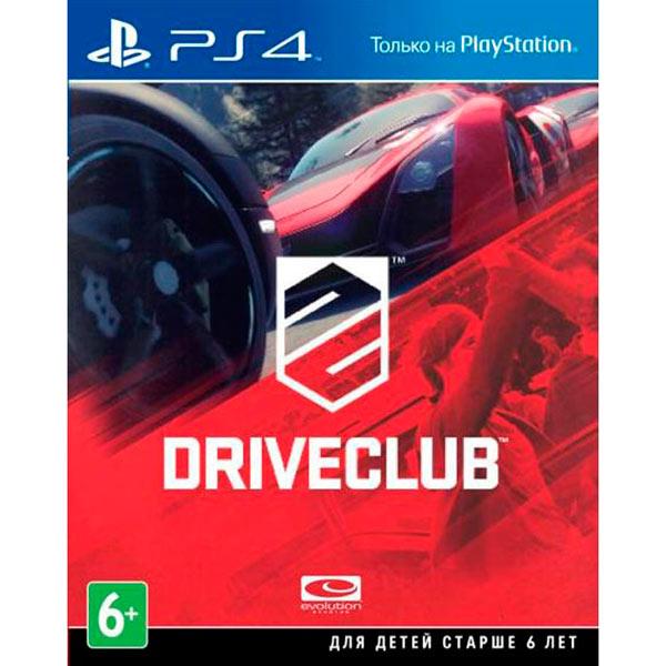 Видеоигра для PS4 . Driveclub игровая приставка sony playstation 4 ps4 500 gb черная driveclub horizon zero dawn и ratchet