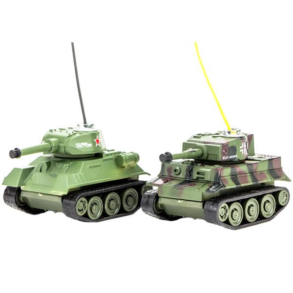 Радиоуправляемый танковый бой Pilotage