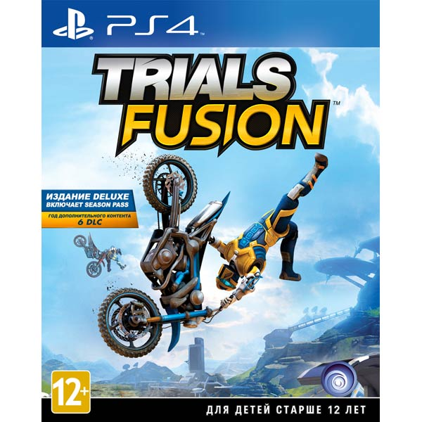 Видеоигра для PS4 . Trials Fusion trials fusion the awesome max edition [xbox one]