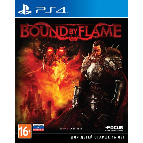Видеоигра для PS4 . Bound By Flame bound by darkness