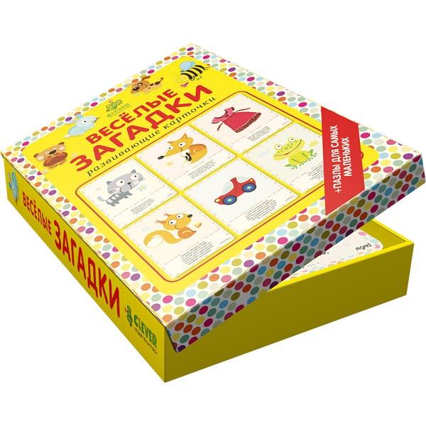 Книга для детей Clever Мои первые слова. Веселые загадки книга для детей clever открытки раскраски с конверт и наклейками на все