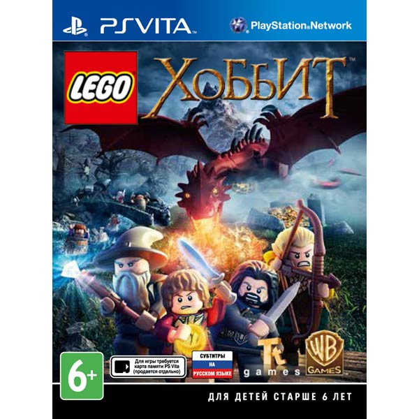 Игра для портативной консоли Медиа LEGO Хоббит игра для playstation 4 wasteland 2 director s cut русские субтитры