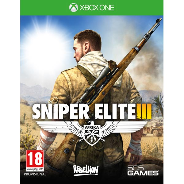 Видеоигра для Xbox One . Sniper Elite 3 видеоигра для xbox one overwatch origins edition
