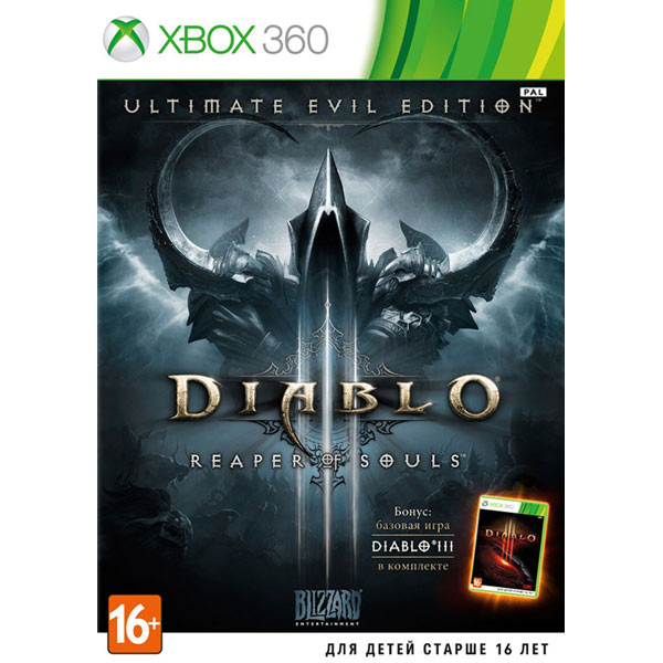 Игра для Xbox . Diablo III:Reaper of Souls игра для xbox медиа dark souls ii scholar of the first sin