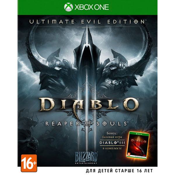 Видеоигра для Xbox One . Diablo III:Reaper of Souls игра для xbox медиа dark souls ii scholar of the first sin