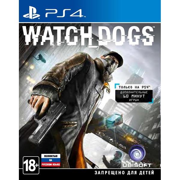 Видеоигра для PS4 . Watch_Dogs