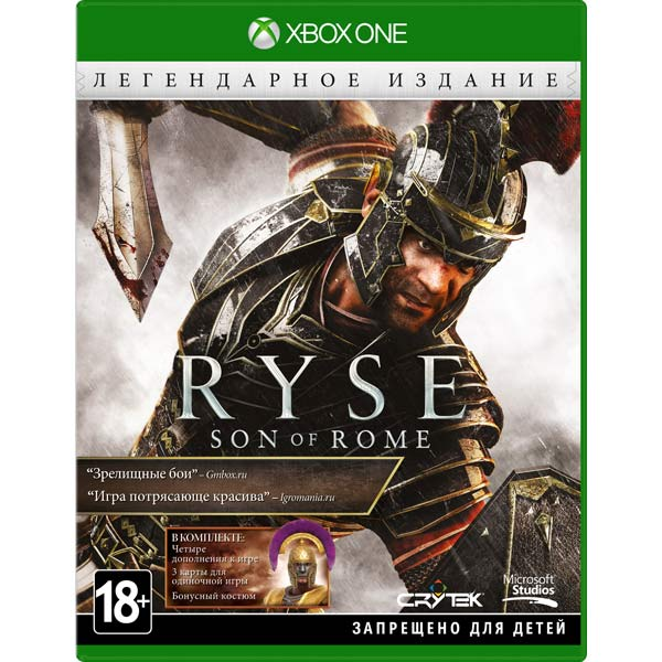 Видеоигра для Xbox One Microsoft Ryse: Son of Rome Legendary Edition электронная версия для xbox microsoft fifa 18 ronaldo edition