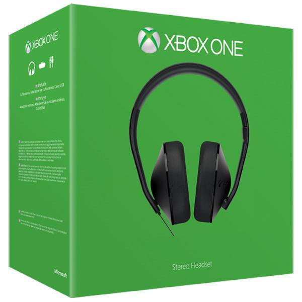 все цены на Аксессуар для игровой консоли Microsoft Stereo Headset (S4V-00010) онлайн