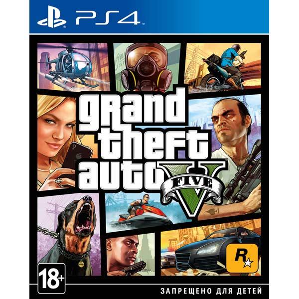 Видеоигра для PS4 . Grand Theft Auto V