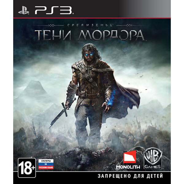 Игра для PS3 . Средиземье:Тени Мордора игра для playstation 4 wasteland 2 director s cut русские субтитры