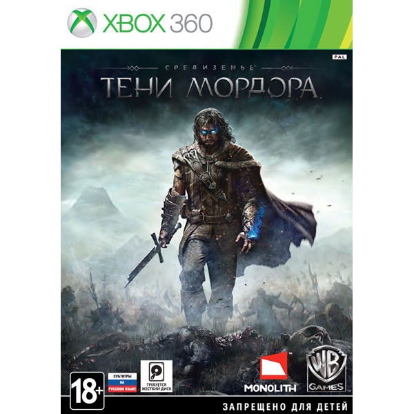 Игра для Xbox . Средиземье:Тени Мордора цена и фото