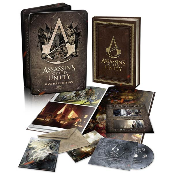 Видеоигра для PS4 Медиа Assassin's Creed Единство.Bastille Edition