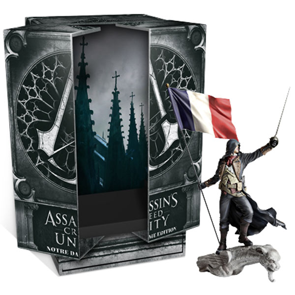Видеоигра для Xbox One Медиа Assassin's Creed Единство.Notre Dame Edition