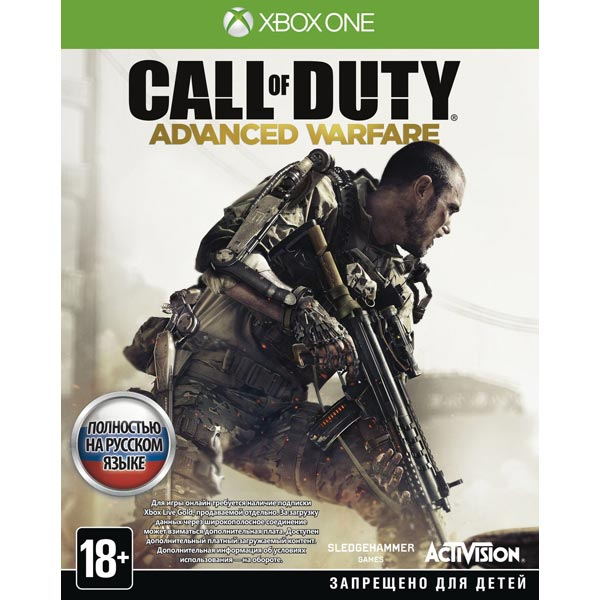 Видеоигра для Xbox One . Call of Duty: Advanced Warfare call of duty modern warfare 3 hardened edition