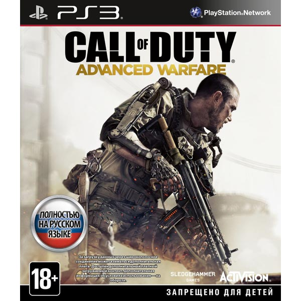 Игра для PS3 . Call of Duty: Advanced Warfare игра для ps3 call of duty modern warfare 3