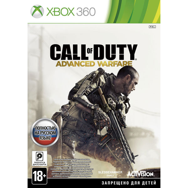 Игра для Xbox . Call of Duty: Advanced Warfare call of duty modern warfare 3 hardened edition